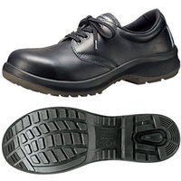 ミドリ安全 JIS規格 女性用 安全靴 短靴 プレミアムコンフォート LPM210 23.5cm ブラック 1500100006 1足(直送品)