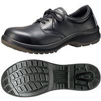 ミドリ安全 JIS規格 女性用 安全靴 短靴 プレミアムコンフォート LPM210 24.0cm ブラック 1500100007 1足(直送品)