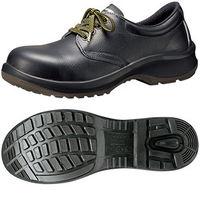 ミドリ安全 JIS規格 女性用 安全靴 短靴 プレミアムコンフォート LPM210 静電 22.5cm ブラック 1500150004 1足(直送品)