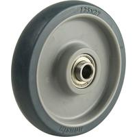 ナンシン(nansin) エラストマー車輪PBシリーズ125mm PB-125 1セット(4個)(直送品)