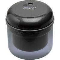 ソニック リビガク フリーキー 乾電池式電動鉛筆削り ブラック LV-1587-D 1個 (直送品)