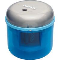 ソニック フリーキー 乾電池式電動鉛筆削り ブルー SK-4928-B 1個 (直送品)