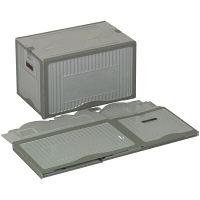 リスボックス53B LGY/GY AABB532 1セット(10個) 岐阜プラスチック工業 (直送品)