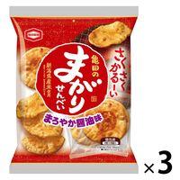 亀田製菓 まがりせんべい 18枚 1セット(3袋)