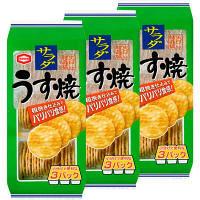 亀田製菓 サラダうす焼 93g 3袋