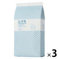 小谷穀粉 みんなで楽しむむぎ茶ティーバッグ1L用 1セット(52バッグ入×3袋)