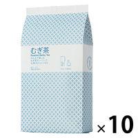 小谷穀粉 みんなで楽しむむぎ茶ティーバッグ1L用 1セット(52バッグ入×10袋)