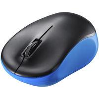 バッファロー 無線(2.4GHz) IR LED光学式マウス 3ボタン/電池長持ち ブルー BSMRW100BL 1台  (直送品)