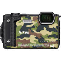 ニコン デジタルカメラ COOLPIX W300 カムフラージュ COOLPIXW300GR 1式  (直送品)