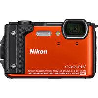 ニコン デジタルカメラ COOLPIX W300 オレンジ COOLPIXW300OR 1式  (直送品)