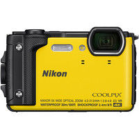 ニコン デジタルカメラ COOLPIX W300 イエロー COOLPIXW300YW 1式  (直送品)