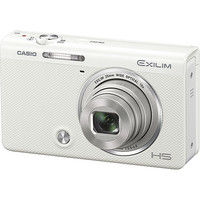 カシオ計算機 デジタルカメラ HIGH SPEED EXILIM EXーZR70 ホワイト EX-ZR70WE 1台  (直送品)