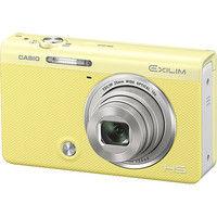 カシオ計算機 デジタルカメラ HIGH SPEED EXILIM EXーZR70 イエロー EX-ZR70YW 1台  (直送品)