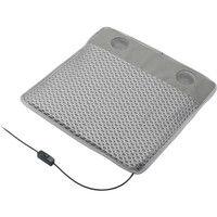 グリーンハウス USBクーラークッション メッシュ グレー GH-COOLSA-GY 1個  (直送品)