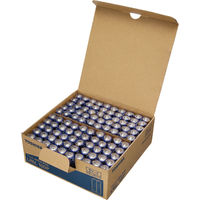 東芝 アルカリ乾電池 単3形 LR6L 100P 1台  (直送品)