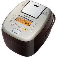 パナソニック 可変圧力IHジャー炊飯器 1.0L (ブラウン) SR-PA107-T 1台  (直送品)
