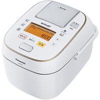パナソニック 可変圧力IHジャー炊飯器 1.0L (ホワイト) SR-PW107-W 1台  (直送品)