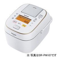 パナソニック 可変圧力IHジャー炊飯器 1.8L (ホワイト) SR-PW187-W 1台  (直送品)