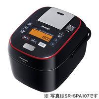 パナソニック スチーム&可変圧力IHジャー炊飯器 1.8L (ブラック) SR-SPA187-K 1台  (直送品)