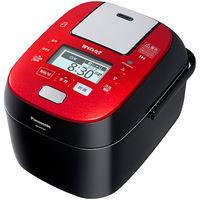 パナソニック スチーム&可変圧力IHジャー炊飯器 1.0L (ルージュブラック) SR-SPX107-RK 1台  (直送品)