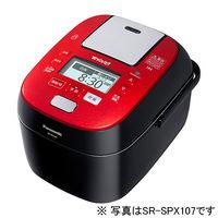 パナソニック スチーム&可変圧力IHジャー炊飯器 1.8L (ルージュブラック) SR-SPX187-RK 1台  (直送品)