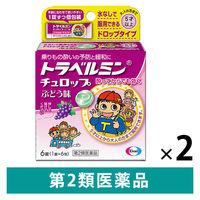 【第2類医薬品】トラベルミン チュロップ ぶどう味 6錠 2箱セット エーザイ