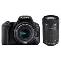キヤノン デジタル一眼レフカメラ EOS Kiss X9 ブラック(W)・ダブルズームキット 2248C003 1台  (直送品)