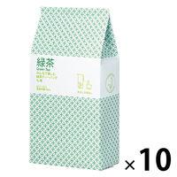ハラダ製茶 みんなで楽しむ緑茶ティーバッグ1L用 1ケース(520バッグ:52バッグ入×10袋)