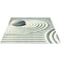オフィス向けデザインマット 枯山水2 145 x 200 cm AX00247 クリーンテックス・ジャパン (直送品)