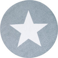 洗えるデザインマット Stars grey 75 x 75cm C022L クリーンテックス・ジャパン (直送品)