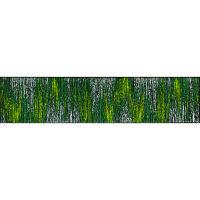 洗えるデザインマット ScratchyGreen 60x260cm D021F クリーンテックス・ジャパン (直送品)