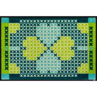 洗えるデザインマット LuckyGarden 50 x 75cm H013A クリーンテックス・ジャパン (直送品)