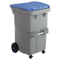 リサイクルカート#200 反転型 ブルー RCN200B 200L 1台 積水マテリアルソリューションズ (直送品)