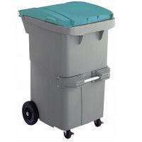 リサイクルカート#200 反転型 グリーン RCN200G 200L 1台 積水マテリアルソリューションズ (直送品)