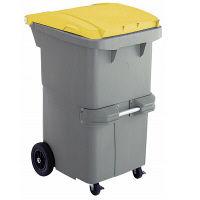 リサイクルカート#200 反転型 イエロー RCN200Y 200L 1台 積水マテリアルソリューションズ (直送品)