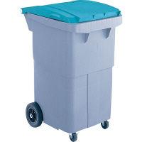 リサイクルカート#200 搬送型 グリーン RCN210R 200L 1台 積水マテリアルソリューションズ (直送品)