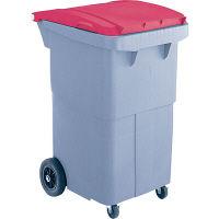リサイクルカート#200 搬送型 レッド RCN210R 200L 1台 積水マテリアルソリューションズ (直送品)