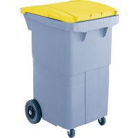 リサイクルカート#200 搬送型 イエロー RCN210Y 200L 1台 積水マテリアルソリューションズ (直送品)
