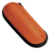 名古屋眼鏡 ウレタンセミハード(ファスナー式)(フック付き) オレンジ 2899-04 1セット(10個)(直送品)