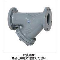 大和バルブ 鋳鉄製10K Y型ストレーナ ナイロンライニング 鉛カット NF10YN 150A 1個(直送品)