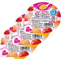 キユーピー ももとりんごのフルーツジュレ 70g FJ-1 1セット(3個)
