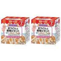 キユーピーベビーフード おうどんと煮物のセット 7ヵ月頃から 60g×2個入り 1セット(2箱)