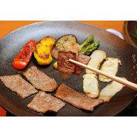 赤坂松葉屋 松茸と飛騨牛の鉄板焼