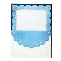 レターセット スターリースカイ (便箋10枚・封筒4枚)×2セット 0-076-4