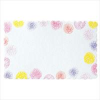 包む グリーティングカード マム 7-124-4 1セット(96枚:12枚入×8個) (直送品)
