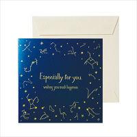 包む 色紙 ミニ 星座 (封筒付・シール8枚付き) B-0017 2枚 (直送品)