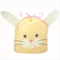 包む 巾着バッグ ウサギ T-2782 3個 (直送品)