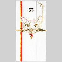 包む 祝儀袋 福猫 T-4577 3個 (直送品)