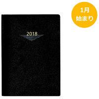 高橋書店 2018年 手帳 ウィークメモ付きダイアリー 62 (直送品)