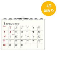 エトランジェ・ディ・コスタリカ 2018年 カレンダー A4カレンダー CLDーA4ー01 2冊 (直送品)